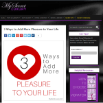 Simple Ways to Add More Pleasure to Your Life